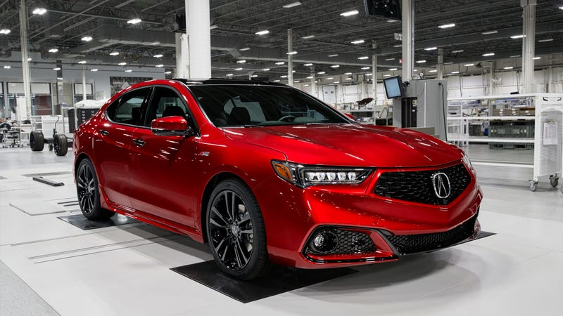 Illustration for article titled Which of You Turkeys Is Dropping $50,000 on a Handbuilt Acura TLX?
