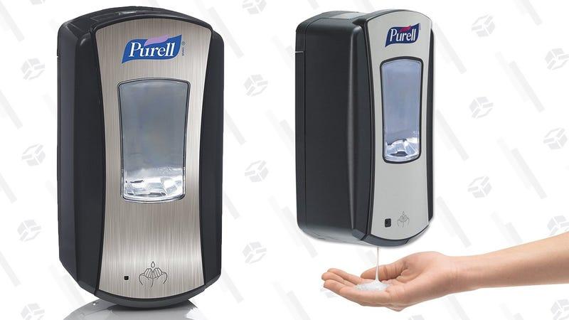 Purell Automatic Disinfectant Dispenser   $9   Amazon