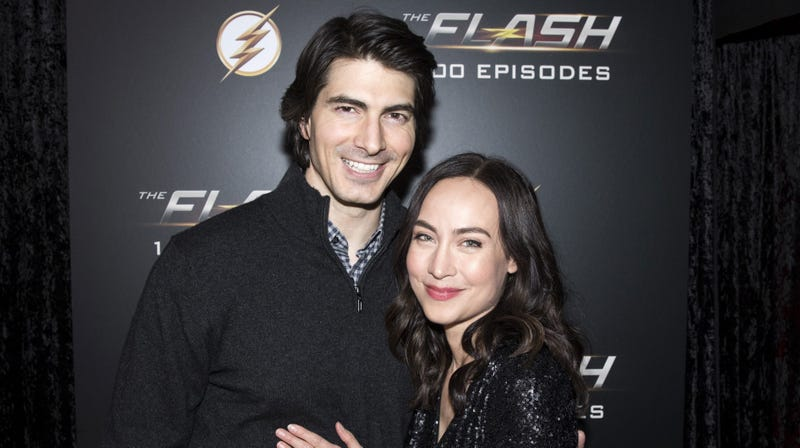 Illustration for article titled Gideon, set a course for sadness: Brandon Routh and Courtney Ford are leaving Legends Of Tomorrow
