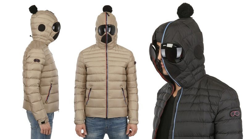 Illustration for article titled Wear This Goggle Hood Jacket and You Deserve Every Snowball Sent Your Way