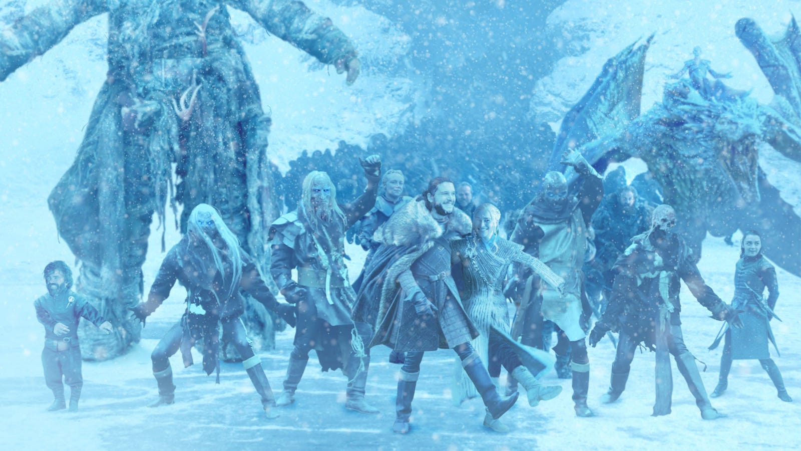 New 'Game Of Thrones' Trailer Provides Sneak Peek At Show's Climactic All-Cast Dance Number