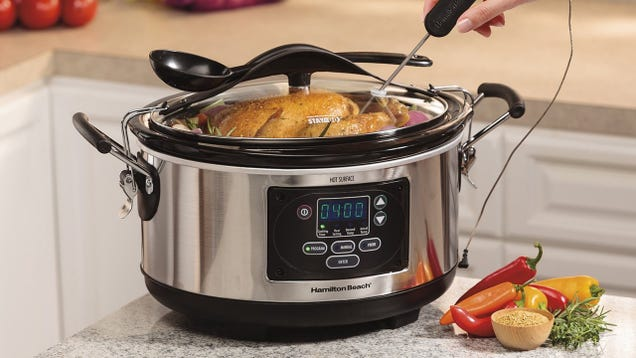 Hamilton Beach's Set 'N Forget Is a Slow Cooker You'll Actually Use, On Sale Today Only