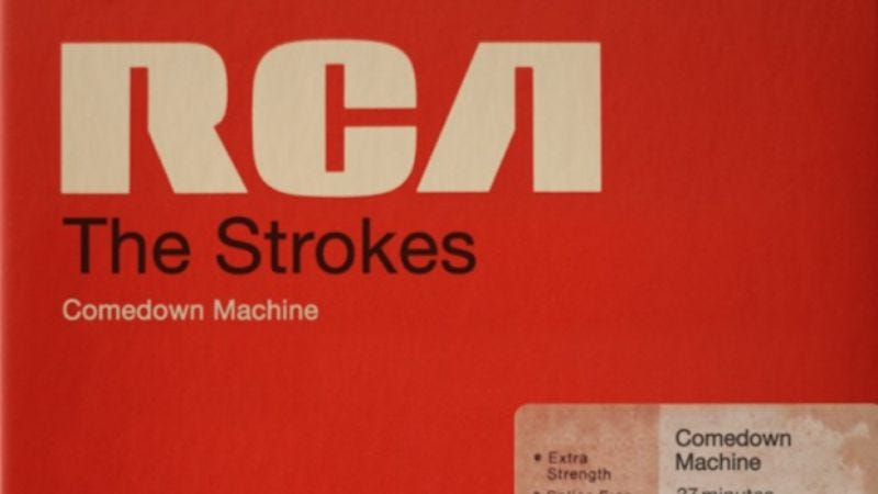 Illustration for article titled The Strokes' new record is called Comedown Machine