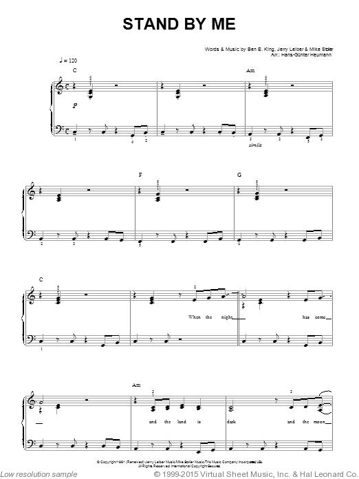 Next To Me Piano Sheet Music Free Pdf