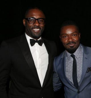 Idris Elba and David OyelowoJesse Grant/Getty Images for NAACP Image Awards