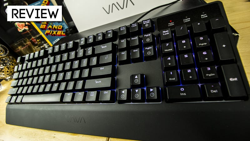 Illustration for article titled Vava Mechanical Gaming Keyboard Review: Not Bad For A Budget Board