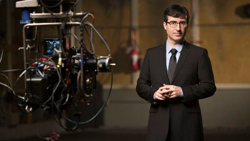 The first week of Last Week Tonight With John Oliver begins… tonight!
