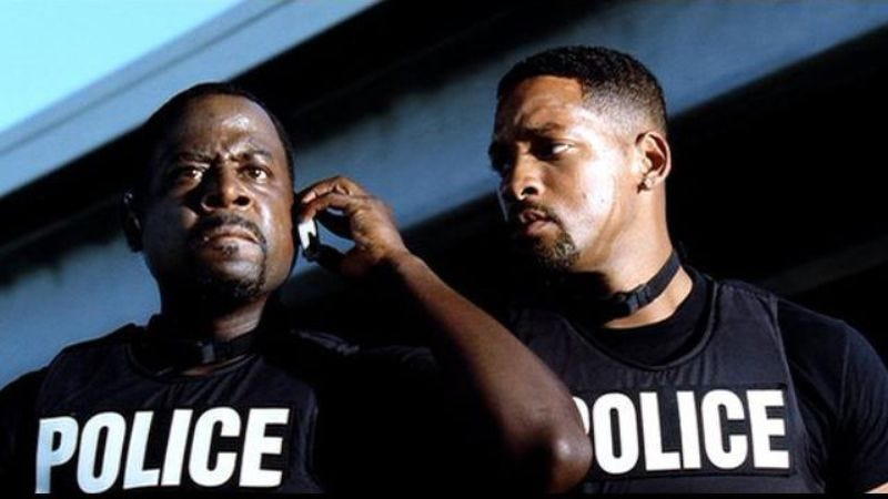 Illustration for article titled Martin Lawrence renews faith in the realness of this Bad Boys 3 shit