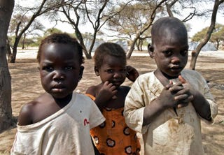 Nigerian children from the town of Baga in a United Nations refugee camp in N'Gouboua in Chad's Lake Chad region Jan. 27, 2015SIA KAMBOU/AFP/Getty Images