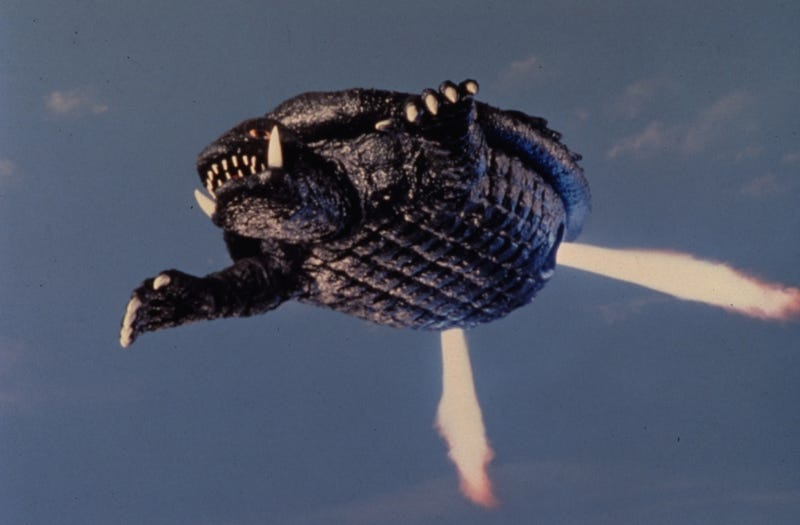 Illustration for article titled Make Way For Gamera, The Prince Regent Of The Monsters