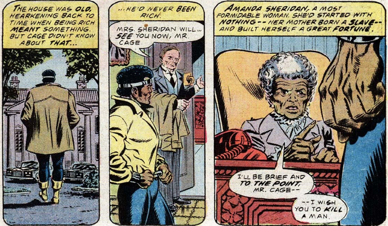 Illustration for article titled That One Time An Old Lady Tried To Get Luke Cage to Murder Somebody