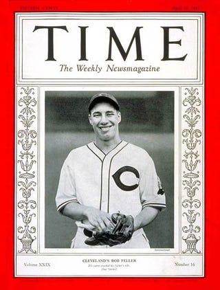 Illustration for article titled Bob Feller, Cleveland Indians Hall Of Famer, Is Dead At 92