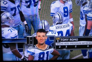 Illustration for article titled We Call This One 'Tony Romo's Identity Crisis'
