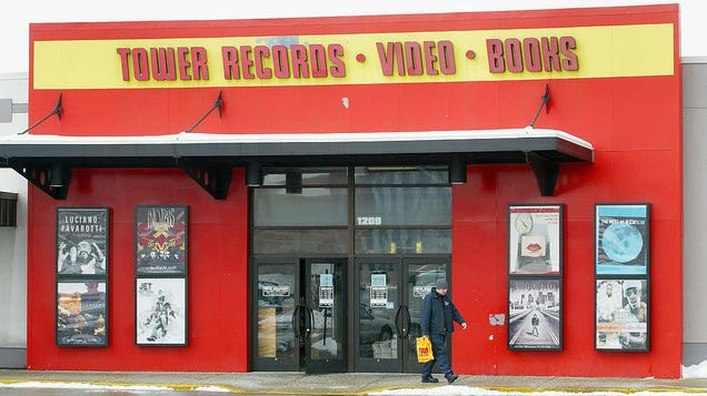 Tower Records Rockets From the Tomb