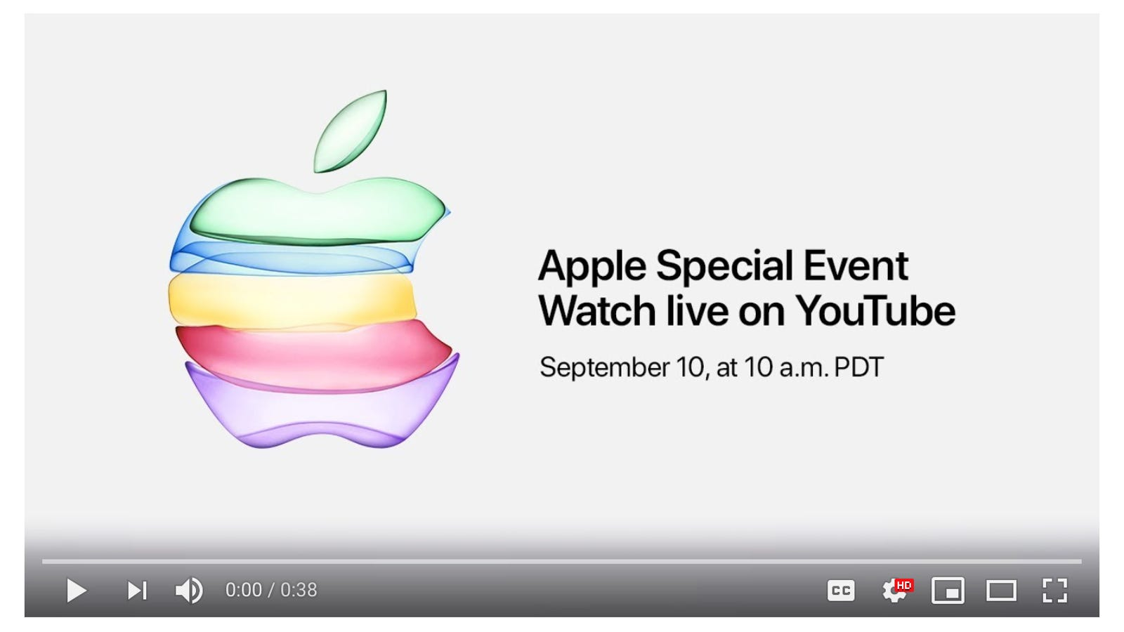 How to Watch Today's Apple iPhone Event (Now on YouTube!)