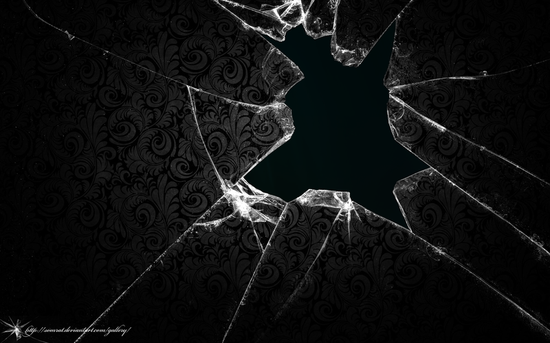 shattered screen wallpaper hd