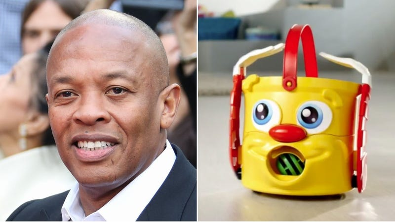Illustration for article titled Dr. Dre meets Mr. Bucket as Hasbro buys Death Row Records for some godforsaken reason