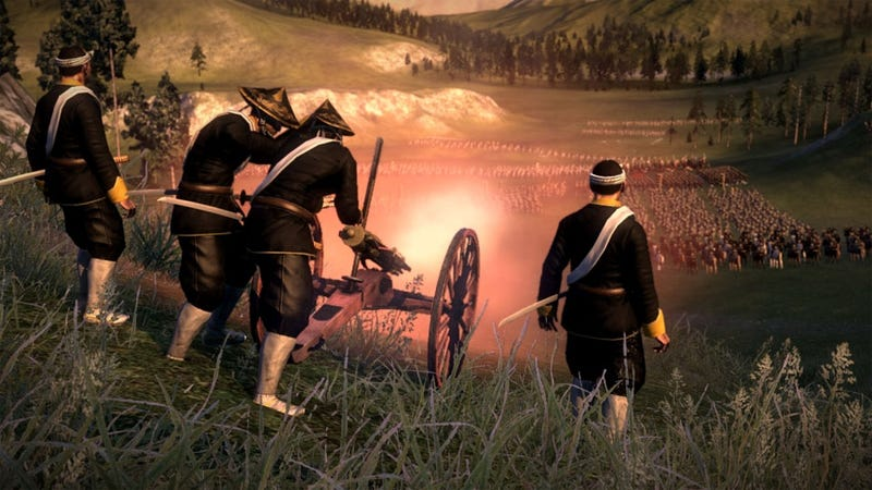 Illustration for article titled America, France, and Britain Ruin Everything in Total War: Shogun 2 — Fall of the Samurai