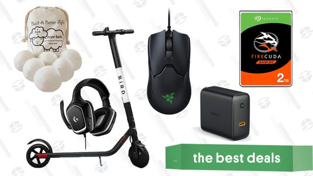 Thursday s Best Deals: Dryer Balls, Logitech Gaming Headset, Bird Electric Scooter, and More