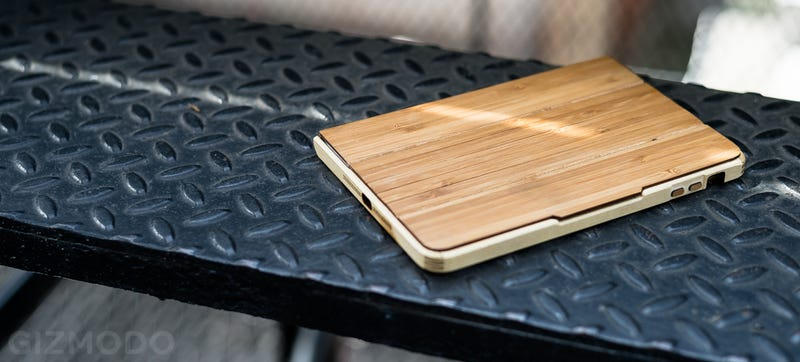 Illustration for article titled Grove's Bamboo iPad Case Is Typically Nice, Typically Spendy