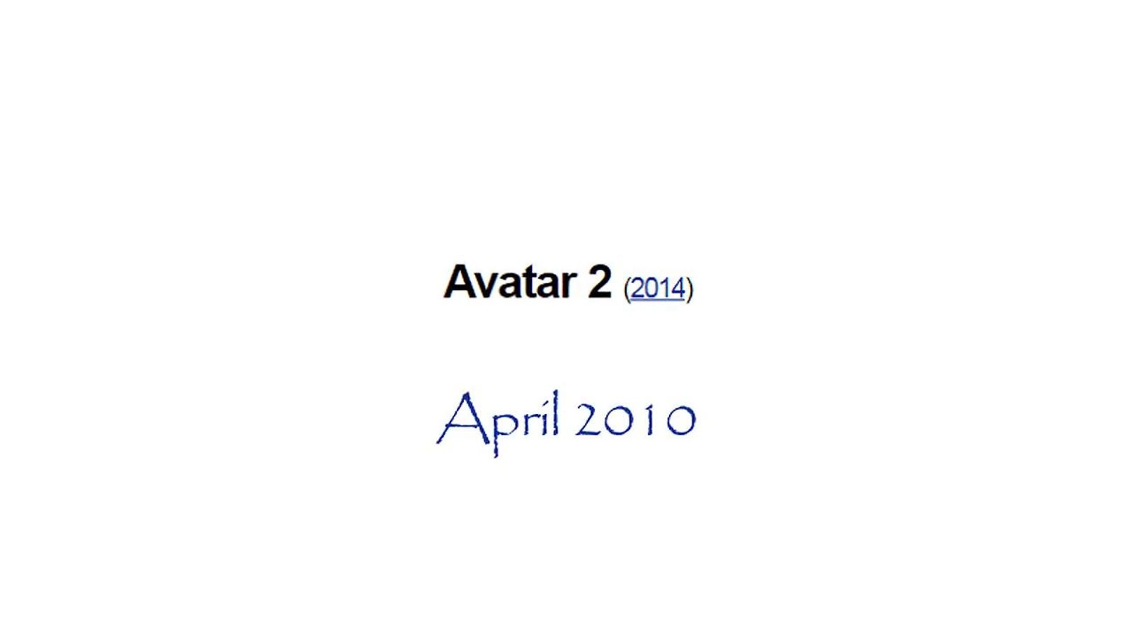 Avatar 2 is never coming out, Neil Cicierega reports