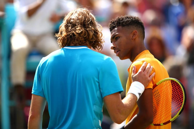 Illustration for article titled This One Weird Trick To Defeat Stefanos Tsitsipas: Be An 18-Year-Old Canadian