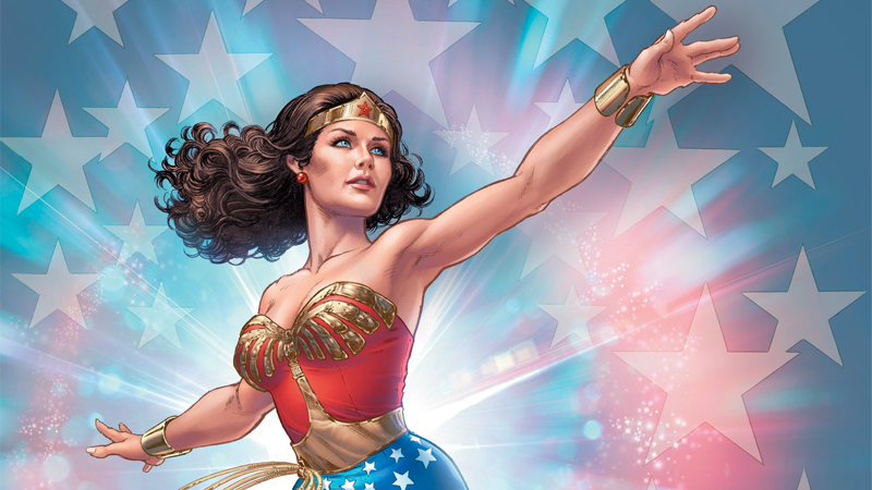 Illustration for article titled Why Lynda Carter's Wonder Woman Makes For an Amazing Comic Hero, Nearly Four Decades Later