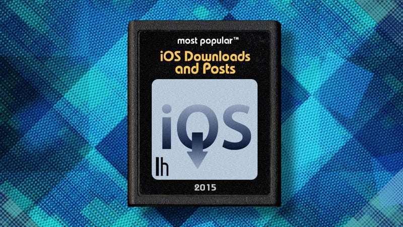 Illustration for article titled Most Popular iOS Downloads and Posts of 2015