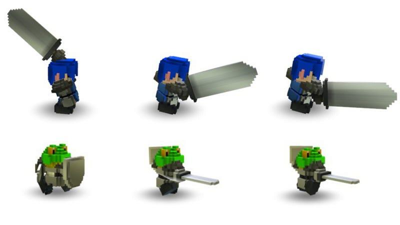 Illustration for article titled Yep, Cube World Still Looks Adorable