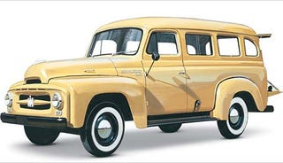 Illustration for article titled International Harvester Travelall: The First SUV?