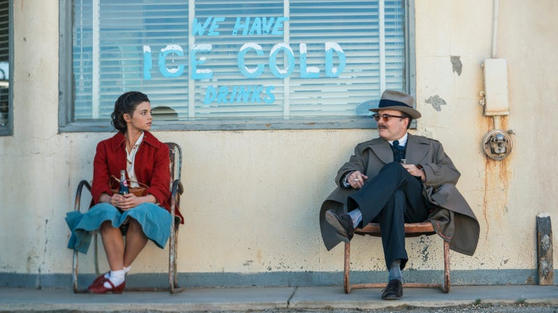 India Eisley and Jefferson Mays in I Am The Night