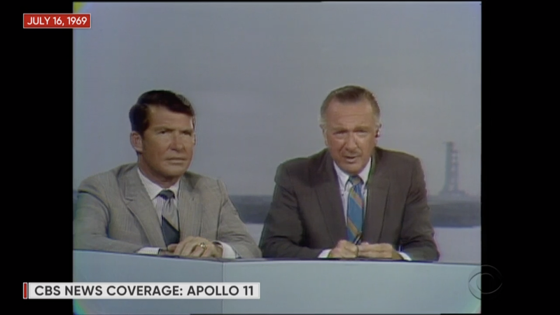 Illustration for article titled CBS News is Livestreaming the Original Apollo 11 Launch Broadcast in Real Time Right Now