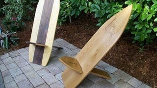 Build an Outdoor Chair from a Single Plank (and Store It in Seconds)