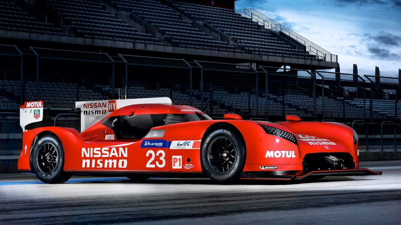 The GT-R LM Nismo, the Le Mans car that was never given a chance to work. Photo credit: Nissan