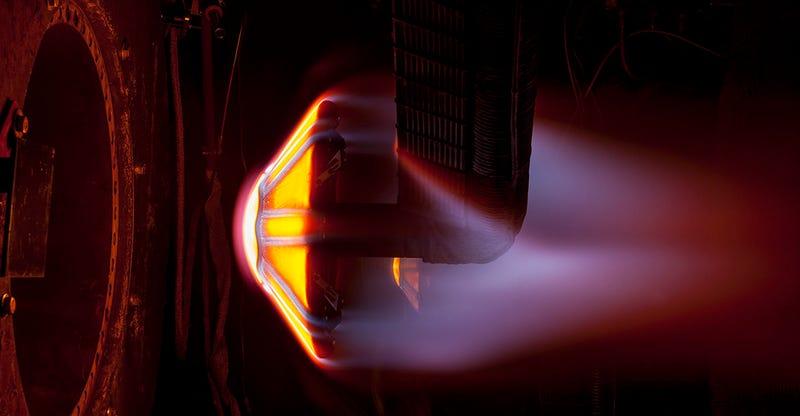 Así prueba la NASA los escudos térmicos que utilizaremos para aterrizar en Marte