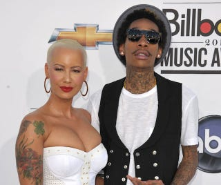 Illustration for article titled Wiz Khalifa Says He Didn't Cheat On Amber Rose But Who Believes Him?
