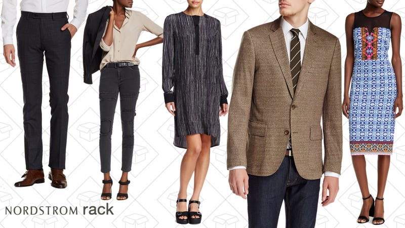 Clear the Rack sale at Nordstrom Rack