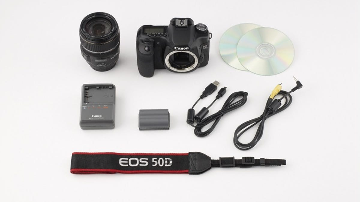 Canon EOS 50D Official: 15-Megapixel Prosumer DSLR Is First