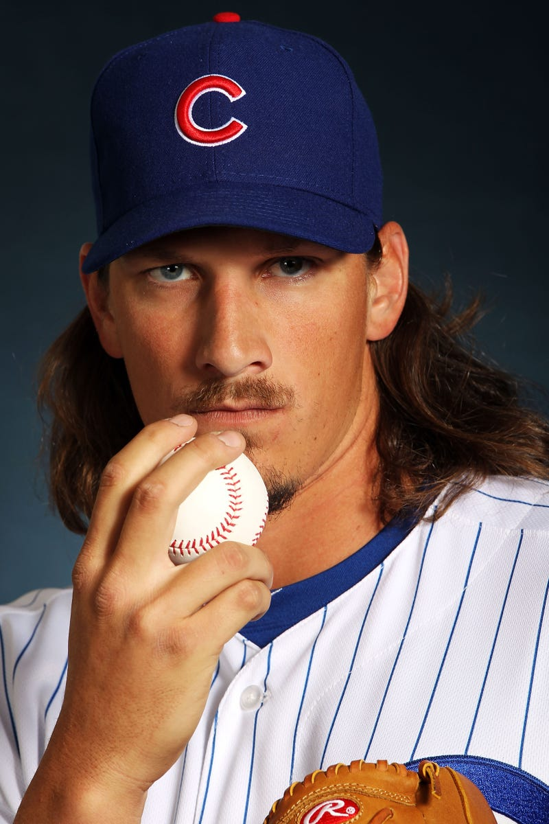 Illustration for article titled Jeff Samardzija Would Like To Eye-Hump You For A Moment