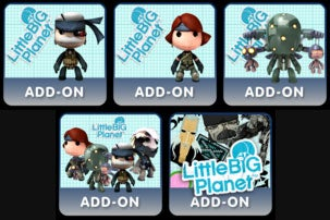 Illustration for article titled Metal Gear Solid 4 Sackboys (Yes, Plural), Level Pack Arriving Soon