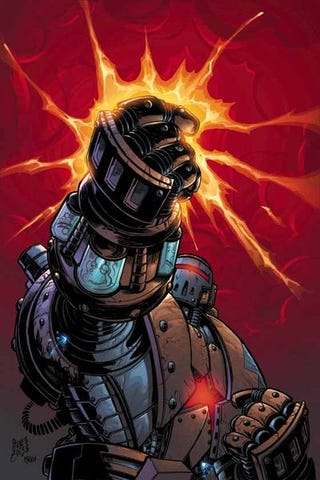 Illustration for article titled Iron Man 2 Will Go Beyond New Movie and Comics, Includes Crimson Dynamo