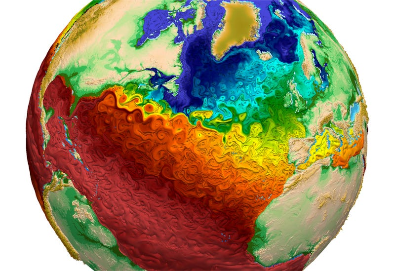 Illustration for article titled This Stunning Image Shows Us The Future of Climate Models