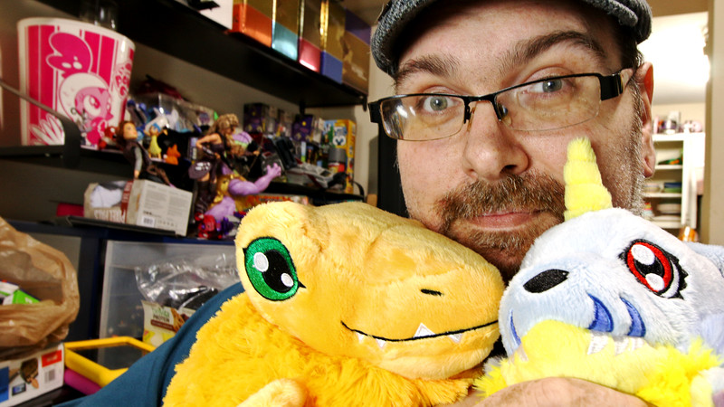 Digimon Squishables not included.