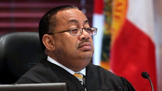 Judge Belvin Perry Jr. presides over Casey Anthony sentencing. (Google)