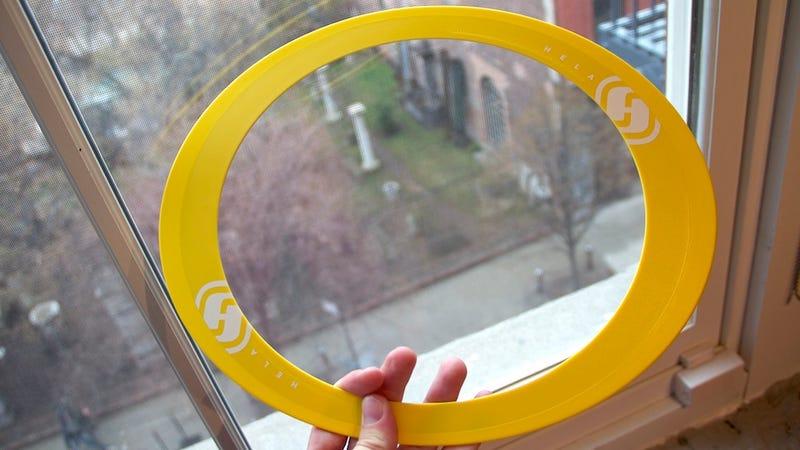 Illustration for article titled Hela Throwing Disc: Frustratingly Fun Flinging
