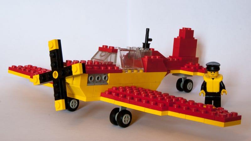 Illustration for article titled Lego Spitfire Mk.II