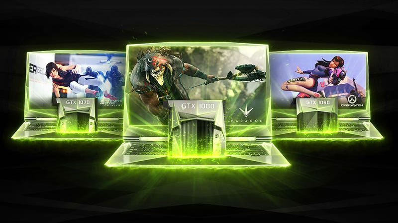 Illustration for article titled Nvidia's Latest Desktop Graphics Cards Are Now Its Latest Notebook Graphics Cards
