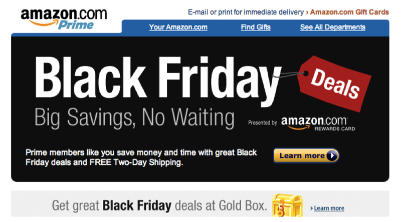 Illustration for article titled Amazon's Black Friday Starts This Sunday [Update: Sears Too]