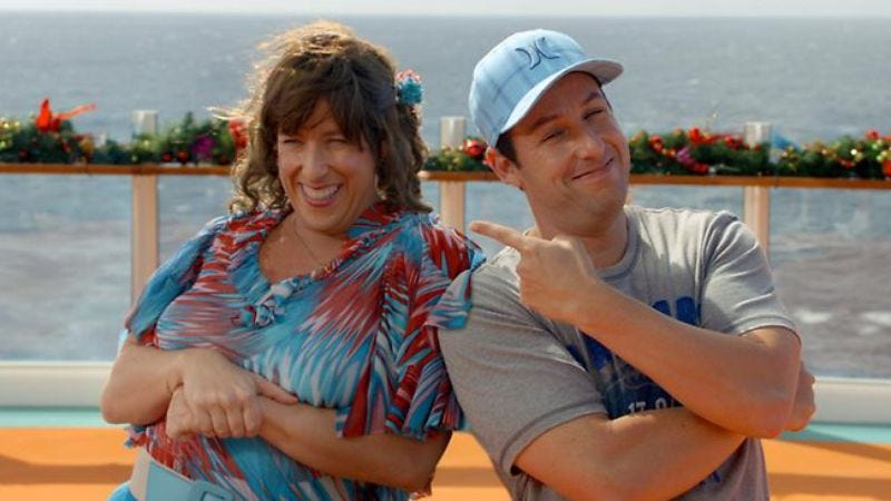 Illustration for article titled Adam Sandler received the most Razzie nominations of all time