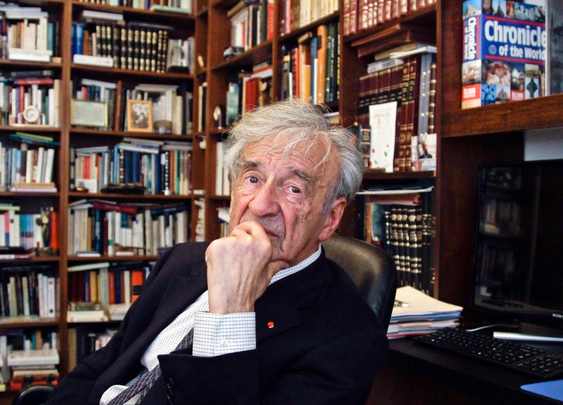 Illustration for article titled Elie Wiesel, Nobel Peace Prize Winner and Holocaust Survivor, Is Dead at 87